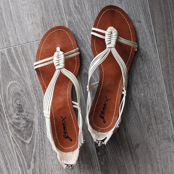 BNIB Strappy Kitten Heel Sandals